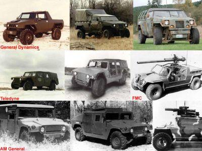 hmmwv 01 prototypes