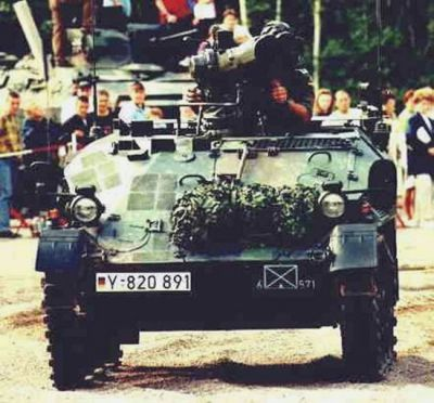 Wiesel Armoured Weapons Carrier (AWC)