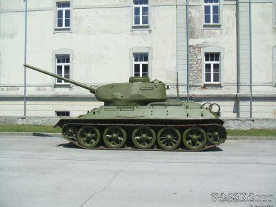 T-34/85 v Park of Military History Pivka