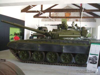 T-72M v Park of Military History Pivka