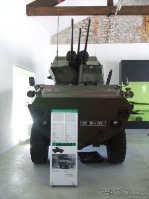 BOV-3 v Park of Military History Pivka