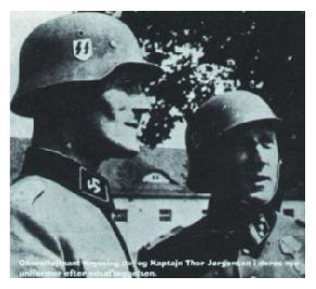 Plukovník Kryssing a kapitán Thor Jorgensen