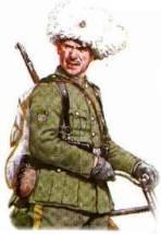 Кozák II. divizionu 2. sibiřského pluku