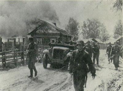 Postup u Bolšoj Dubovici, zima 1942