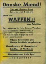 Výzva k Dánům ke vstupu do Waffen-SS