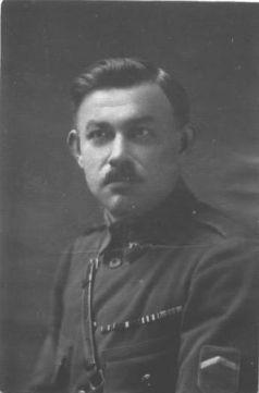 mjr. Ježek bezprostředně po konci války
