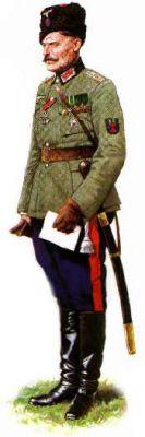 Velitel 5. donského pluku podplukovník I.N. Kononov