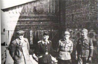 Příslušníci SBM a policie