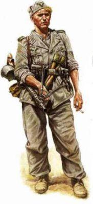 Kulometník ze 4. nebo 5. pluku
