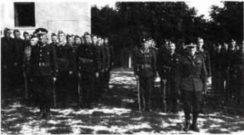 5. setnina 4. pluku Ruského strážního sboru, Bělehrad