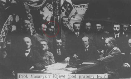 Návštěva T.G. Masaryka v Kyjevě