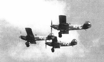 Avia B-534 1. provedení z výzbroje 31. letky