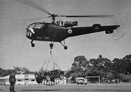 Alouette III ve Rhodésii