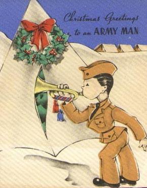 Vánoce a vojáci