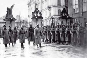 Hitler na Pražském hradě