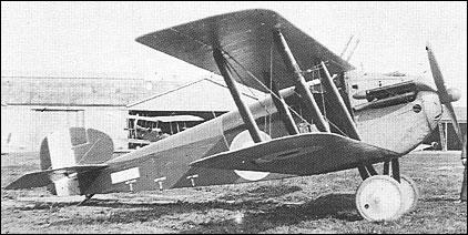 Sopwith 5F.1 Dolphin - třetí prototyp