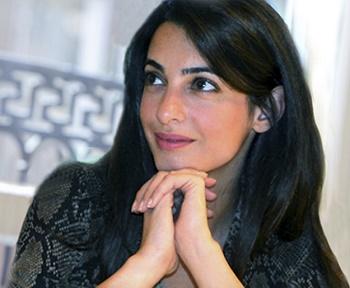 půvabná Amal Allamuddinová málem vyšetřovatelkou OSN