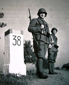 československá armáda na hranicích