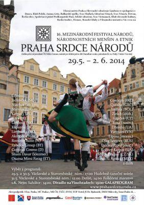 Mezinárodní festival Praha srdce národů 2014