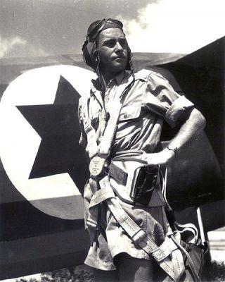 Neznámý pilot Šerut Aviru v roce v červenci 1948