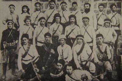 Bojovníci Ha Šomeru v roce 1909