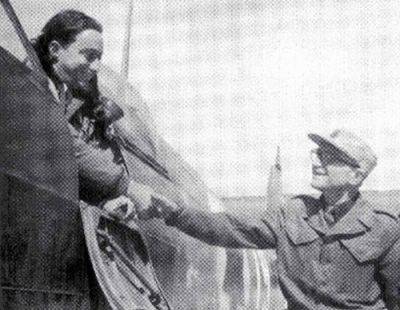 """Letiště Hatzor, leden-únor 1949, Spitfire """"bílá 19"""" (2019)"""