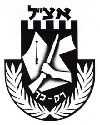 Znak organizace Irgun