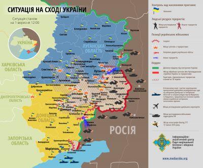 Stav na Ukrajině 1.9.2014