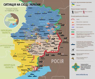 Stav na Ukrajině 4.9.2014
