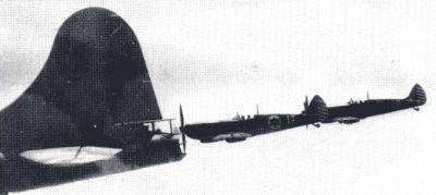 Upravené střeliště na zádi izraelského B-17