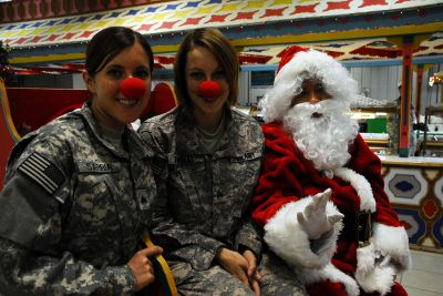 Vojačky a Vánoce