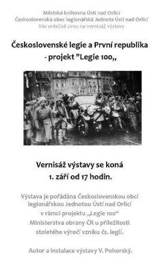 výstava Československé legie a První republika