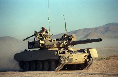 M551 Sheridan upravený, aby připomínal T-80