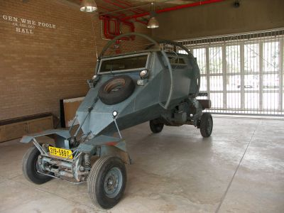 Leopard Security Vehicle