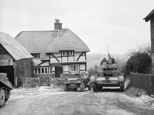 Cruiser Tank Mk.III A13 a Daimler Mk I