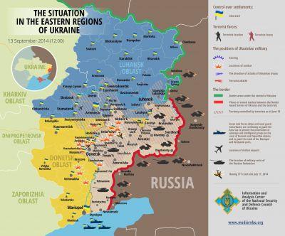 Stav na Ukrajině 13.9.2014