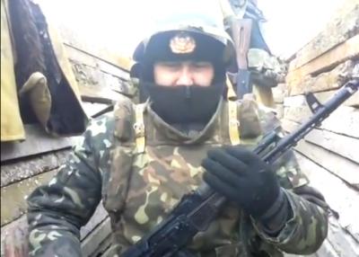 Rus vydávající se za ukrajinského vojáka