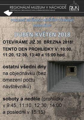 Pevnost Dobrošov plakát