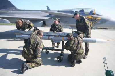AIM-120C jako výzbroj českých Gripenů