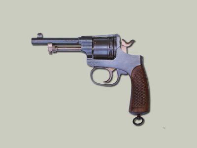 Armádní revolver Rast Gasser-1898