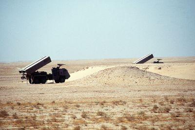ASTROS-II SS-30 armády Saudské arábie během operace Pouštní štít