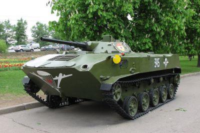 Sovětské výsadkové bojové vozidlo BMD-1