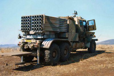 Dělostřelecký raketomet Bateleur