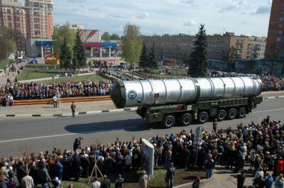 Doprava střely protiraketového systému A-135 Baton