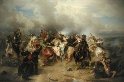 Smrt Gustava II. Adolfa u Lützenu