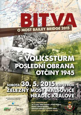 Bailey Bridge 2015 - Hradec Králové - Malšovice (30.5.2015)