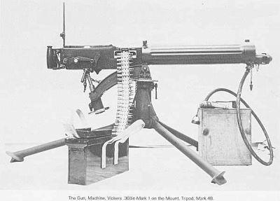 Britský těžký kulomet Vickers