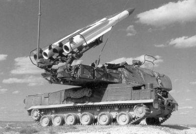Systém 9K37 Buk z výzbroje bývalé sovětské armády