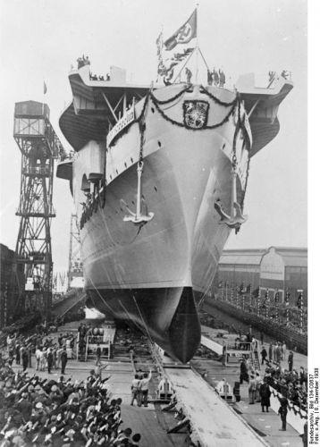 Graf Zeppelin 8. prosince 1938
