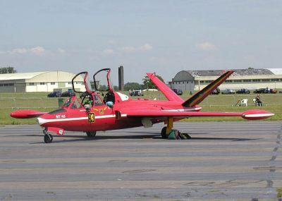 CM.170 Magister belgického letectva